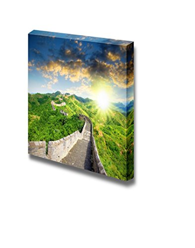 Famous Landmark Great Wall of China at Sunset Time Home Deoration Wall Decor ing