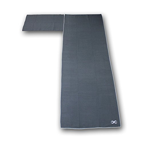 Yoga Addict Yoga Mat Towel And Hand Towel Combo Set