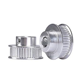Amazon.com: kingprint GT2 Timing Polea Bore 40 dientes 8 mm ...