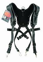 Task Tools T77583 Signature Series Leather Suspender/Harness, Black