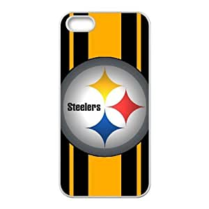 iPhone 5, 5S Phone Case Sports NFL Pittsburgh Steelers Protective Cell Phone Cases Cover DFZ039099