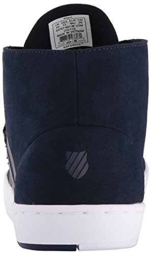 K-swiss Mens Dr Cinch Chukka Fashion Sneaker Blu / Bianco