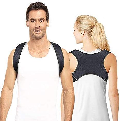 Corrector de Postura, Fisioterapia para Ajustar el Peso de la Espalda para Hombre Mujer - Alivia el Dolor de Espalda, Hombro y Cuello