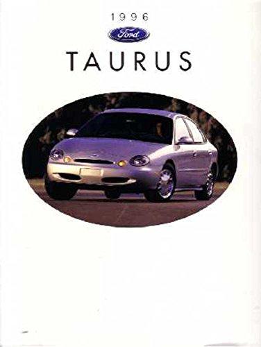 - 1996 Ford Taurus Sales Brochure Literature Book Piece Dealer Advertisement