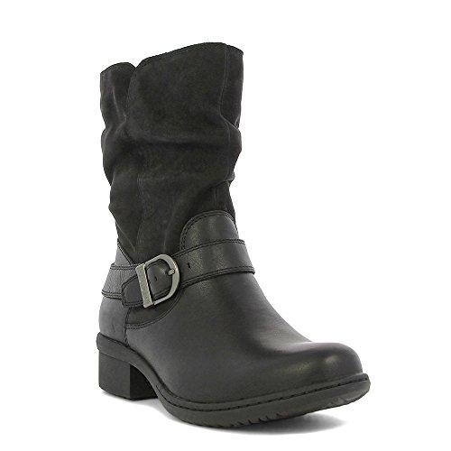 Bogs Carly, Damen Stiefel & Stiefeletten  schwarz schwarz