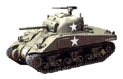 1/48 M4 Sherman Tank-Early - Early Tank
