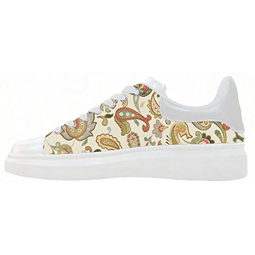 Custom paisley Womens Canvas shoes Le scarpe le scarpe le scarpe.