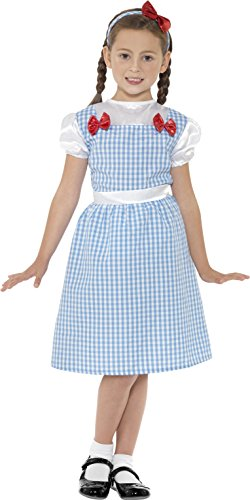 [Childrens Story Book Wizard Of Oz Dorothy Style Country Girl Costume] (Dorothy Costume Uk)