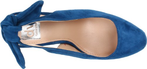 Dv By Dolce Vita Mujeres Blore Pump Blue Suede