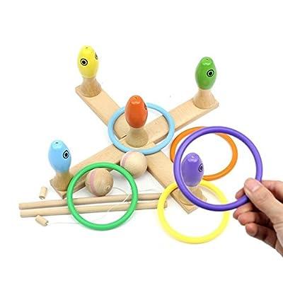 3 en 1 Basic Preschool Educational Development Bois Bain magnétique Pêche Voyage Table de jeu, jouets de cadeau d'anniversaire pour l'âge 2 3 4 Ans Enfant Enfants Bébé Garçon Fille Todd