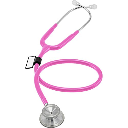 - MDF® Acoustica® Deluxe Lightweight Dual Head Stethoscope - Free-Parts-for-Life & Lifetime Warranty - Fuchsia (MDF747XP-32)