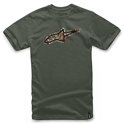 Alpinestars T Thé shirt Task Vert T7rqT