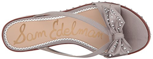Sam Edelman Women's Dariel Sandal Light Grey Satin xlJgg