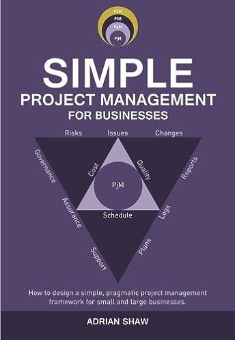 Engineering Design Management Framework: Amazon.com: Simple Project Management for Businesses: How to design rh:amazon.com,Design