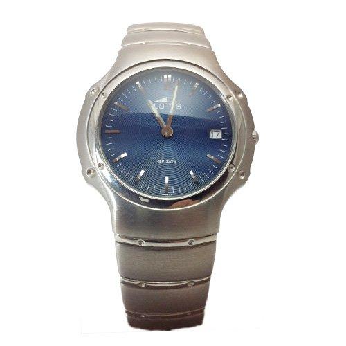Lotus Reloj analogico para Hombre de Cuarzo con Correa en Acero Inoxidable 9785/3: Amazon.es: Relojes