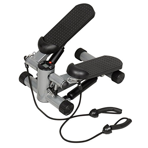 Giantex Air Stair Climber Stepper Exercise Machine Aerobic Fitness Step Equipment Bands - Exercise Aerobic Machines