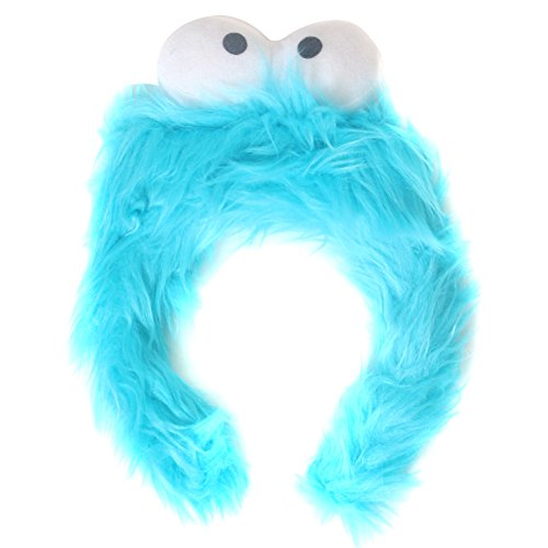 [Kids Blue Monster Furry Costume Headband] (Red Furry Monster Costume)
