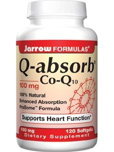 Jarrow Formulas Q-Absorb Co-Q10, 100 mg, 120 Count (Pack of 3) by Jarrow