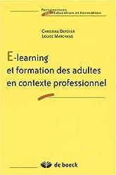 E-learning et formation des adultes en contexte professionnel