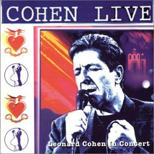 Cohen Live Leonard Cohen in Concert by Sony Music Entertain