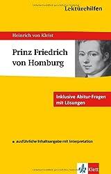 Lektürehilfen Heinrich von Kleist
