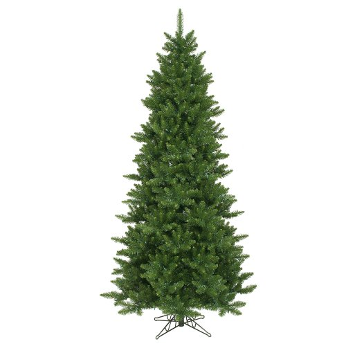 Camdon Christmas Fir Tree (Vickerman 75' Unlit Camdon Fir Slim Artificial Christmas Tree)
