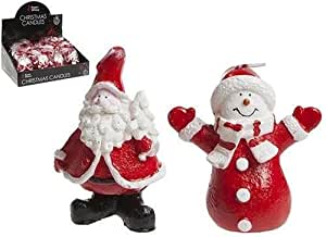 Navidad calcetín de Navidad de Papá Noel y muñeco de nieve decoración del hogar vela regalo llenado