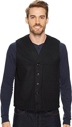 Filson Men's Mackinaw Wool Vest Navy - Jacket Cruiser Mackinaw Wool