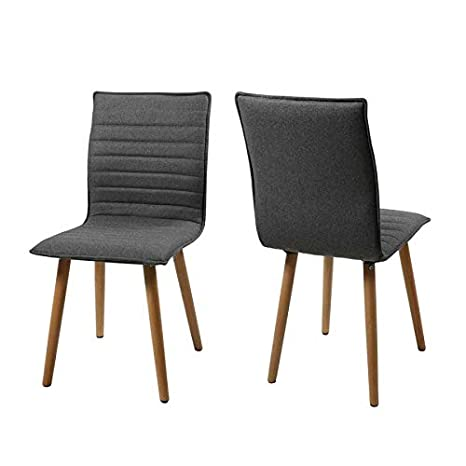 Pack 2 sillas tapizadas karla: Amazon.es: Hogar