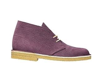 CLARKS Men's Tan Leather Desert Boots (8.5 D(M) US, Purple/Grape/Nubuck) (B071WBJBDK) | Amazon price tracker / tracking, Amazon price history charts, Amazon price watches, Amazon price drop alerts
