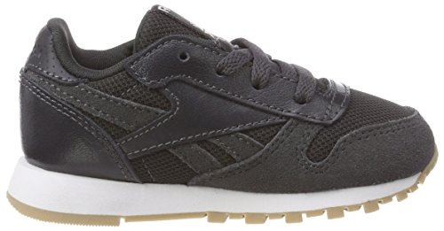 White 000 Bébé Coal Classic Reebok Leather Estl Gris Sneakers Mixte Basses Cxvz7w