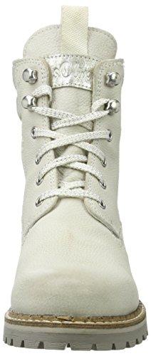 Offwhite Boots Combat 25204 Weiß s Oliver Damen w1qp1P