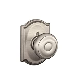 Camelot Collection Georgian Satin Nickel Dummy Knob (F170 GEO 619 CAM)