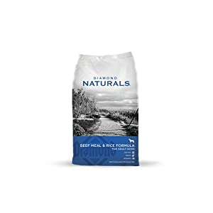 Amazon.com : Diamond Naturals Dry Food for Adult Dog, Beef