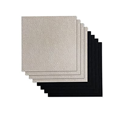 EachMay 8 Pack DIY Felt Pads, Adhesive Furniture Pads Cut Into Any Shape to Protect Your Hardwood and Laminate Flooring (5.9 x 5.9 inches)