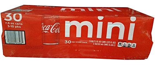 Coke Mini Cans, 225 Fluid Ounce (6 Oz Soda)