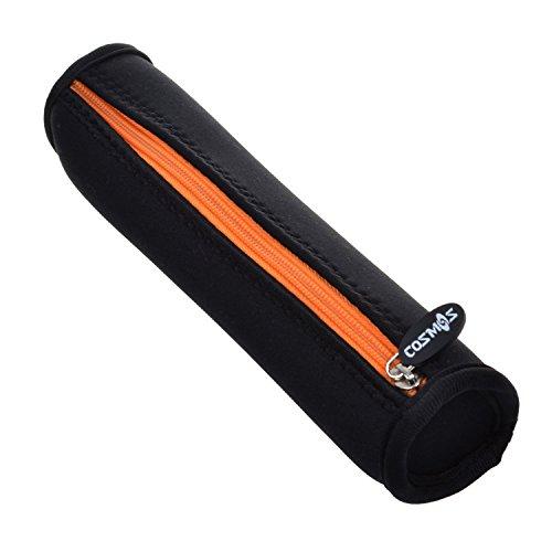 Cosmos Orange Zipper Neoprene Stylus