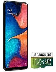 "Samsung Galaxy A20 32GB A205G/DS 6.4"" HD+ 4,000mAh Battery LTE Factory Unlocked GSM Smartphone (International Version, No Warranty) (Black)"