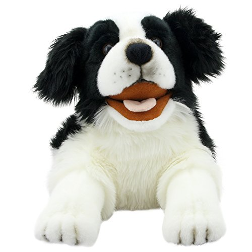 The Puppet Company Playful Puppies Border Collie Hand Puppet ()