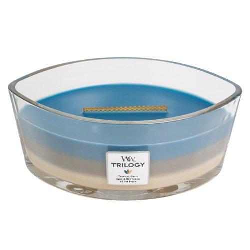"Woodwick, candela ""Hearthwick"", blu 76957EU"