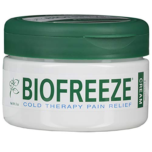 Biofreeze Cream, New Pain Relief Cream from The #1 Clinically Recommended Brand, Advanced Topical Analgesic Pain Reliever, Sore Muscles & Joints, 3 oz. ()
