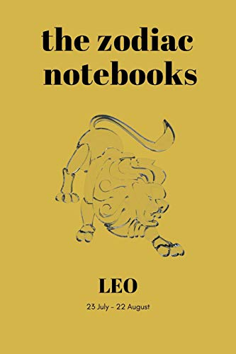 Leo - The Zodiac Notebooks: 120-Page Lined Leo Star