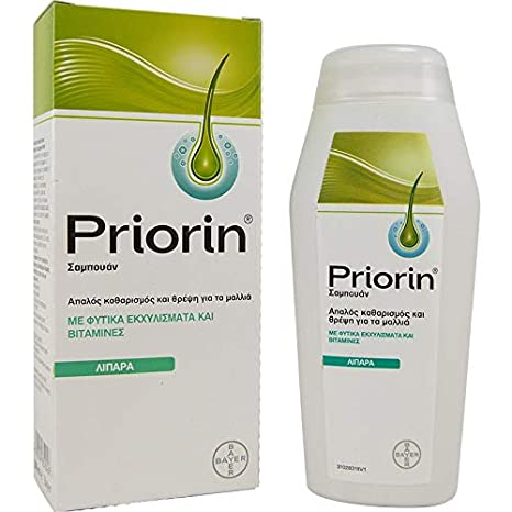 Bayer Priorin Champú anti pérdida de cabello para cabello ...