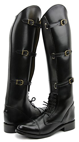 Hispar Women Ladies Crown Field Horse Riding Boots Stylis...