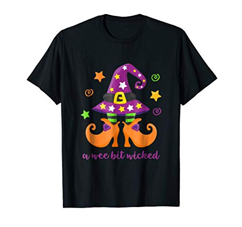 Wee Bit Wicked Haloween T-Shirt