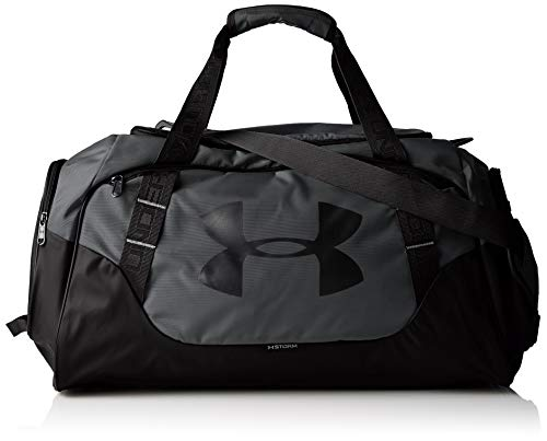 Under Armour Undeniable Duffle 3.0 Gym Bag, Graphite (040)/Black, Medium