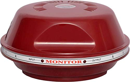 Monitor  100% Copper  Voltage Stabilizer for Refrigerator/Fridge Upto 300 litres with 5 Year Warranty  Red