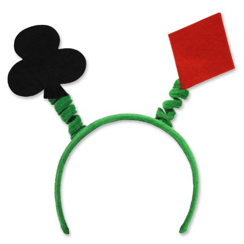 A Deck Of Cards Costume - Beistle 60695 Card Suit Boppers Party Hat