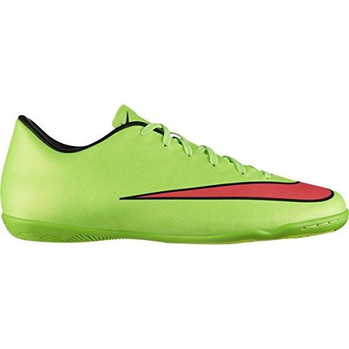 Nike MERCURIAL VICTORY V IC Electric Green/Black/Volt/Hyper Punch US sz. 11 Mens Soccer nubNG