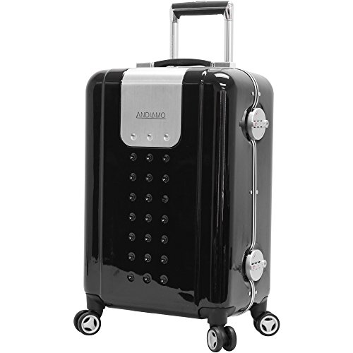 andiamo-21-aluminum-frame-zipperless-carry-on-luggage-with-spinner-wheels-21in-black